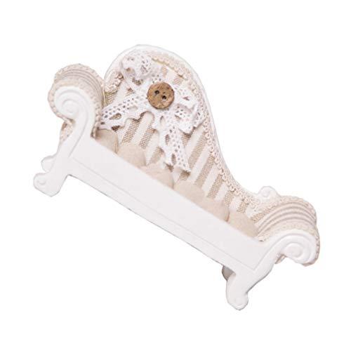 Homoyoyo Pendientes de Anillo Bandejas de Exhibición Sofá Forma de Sofá Soporte de Joyería Soporte de Collar Escaparate Organizador de Joyas para Mujer Decoración Del Hogar Caqui