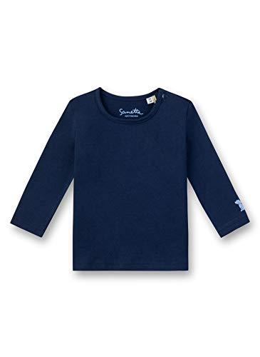 Sanetta Unisex Baby Fiftyseven T-Shirt, Blau (Deep Blue 5993), 92 (Herstellergröße: 092)
