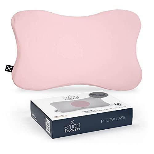 Smart Recovery Pillow CASE - Funda de almohada de ajuste perfecto para el cojín inteligente de recuperación (rosa)