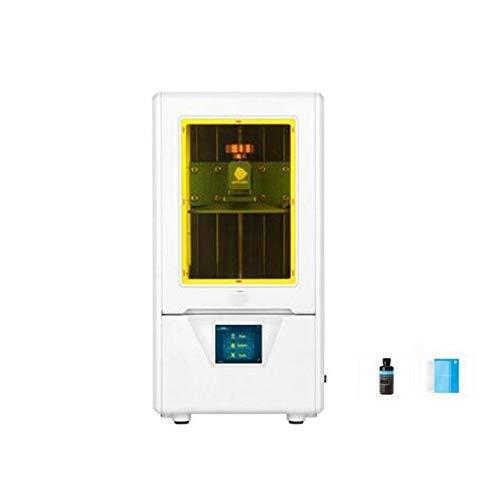Stampante 3D Fai da Te Dental SLA 8X Anti-aliasing ad Alta risoluzione della Stampante 3D Color Jewerly (Colore: Nero fotoni) DDLS (Color : Photons White)