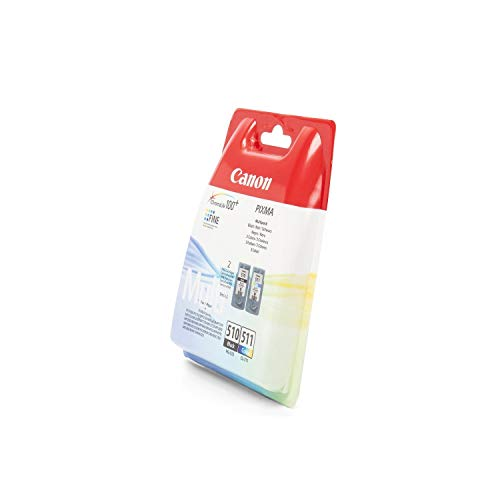 Canon Original PG-510 CL-511 Combo Tinta Paquete