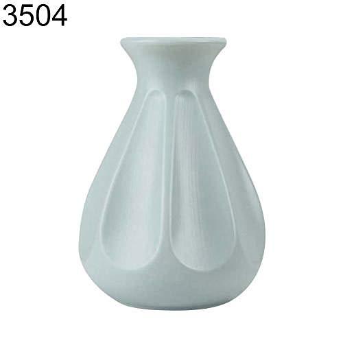 NA Vaas Stijl Bloem Vaas Decoratie Thuis Kunststof Vaas Witte Imitatie Origami Kunststof Bloem Pot Bloem Mand Vazen Voor Bloemen