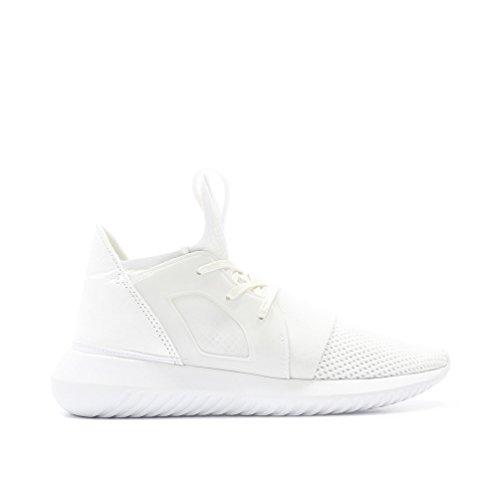 adidas Womens Tubular Defiant White BB5116 (SIZE: 8)