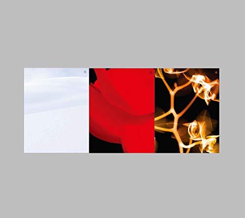 Cube Entertainment (G) I-DLE - I Burn (4th Mini Album) Album+Folded Poster+Extra Photocards Set (Fire ver.)
