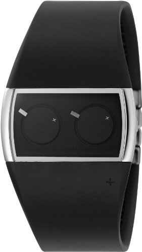 Philippe Starck Uhr GNT DUAL BLK PU NO PH5029
