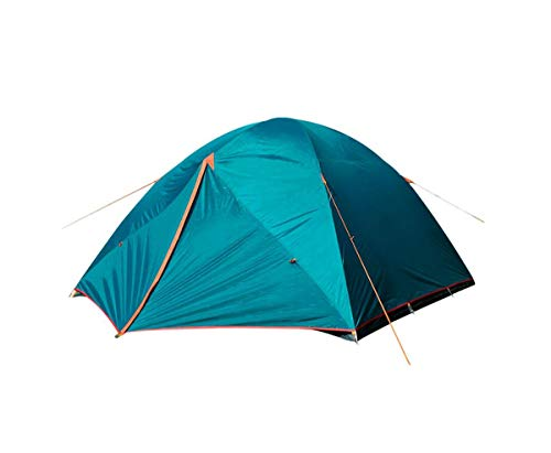 NTK Colorado GT 8 to 9 Person 10 by 12 Foot Outdoor Dome Family Camping Tent 100% Waterproof 2500mm, Easy Assembly, Durable Fabric Full Coverage Rainfly - Micro Mosquito Mesh