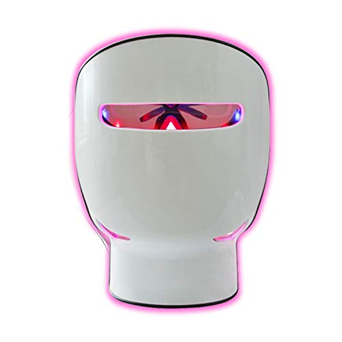 LED Face Mask Light Therapy, Bestqool LED Facial Skin Care Mask Red | NIR | Blue Light Therapy, Clinical Grade Facial Care Photon Mask for Skin Rejuvenation, Anti Aging Skin Tightening