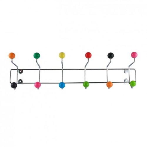 Porte-manteaux crochet coloré couleurs saut saturnus