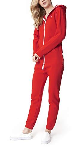 OnePiece Damen Jumpsuit Unisex Original 2.0, Rot (Red) - 3