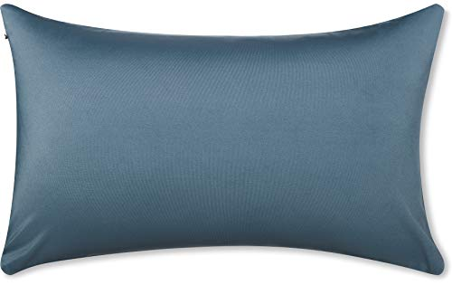 """12"""" x 20"""" Throw Pillow – Dark Slate Grey: 1 PCS Luxurious Premium Microbead Pillow With 85/15 Nylon/Spandex Fabric. Forever Fluffy, Outstanding Beauty & Support. Silky, Soft & Beyond Comfortable"""