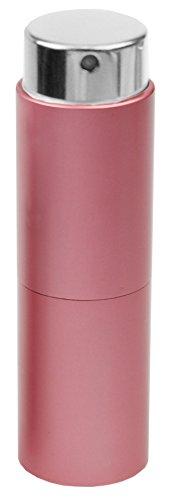 Fantasia - Vaporisateur de poche rotatif pour vaporisateur 10 ml - Rose - Hauteur 8 cm