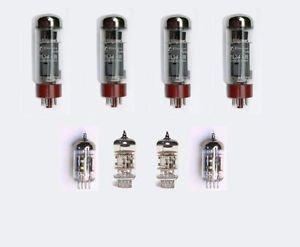 Jellyfish Audio EL3450/50Kit de válvula para Marshall amplificador 12AX7/ECC8312AT7/ECC81