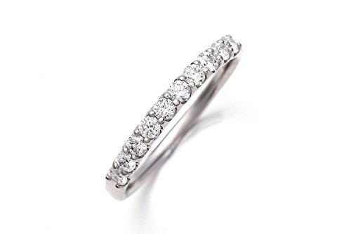 LEGAN (レガン) ハーフ エタニティリング プラチナ 11号 [ 0.3ct / 10石 ] 指輪 pt900 婚約指輪 ダイヤモンド