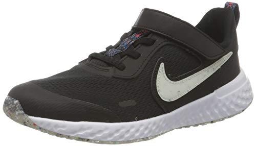 Nike Unisex barn Revolution 5 Se (PSV) löparsko, Svartvit - 29.5 EU