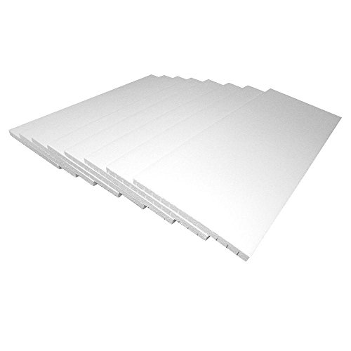 Garage Door Insulation Kit - 8 Foam Panels