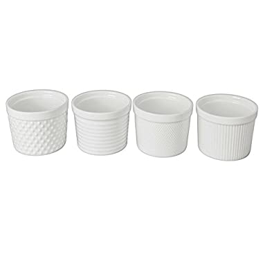BIA Cordon Bleu Ramekin Set of 4 - 12 oz - Textured