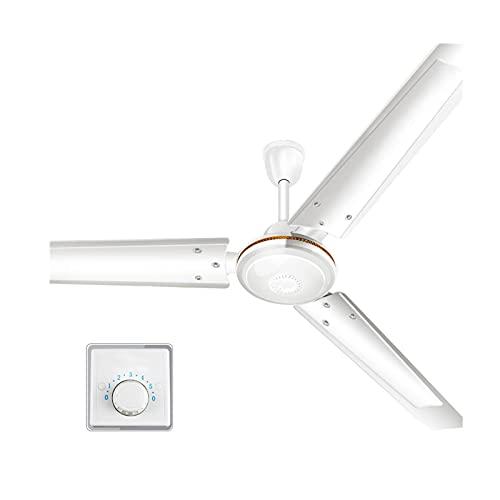 HHOSBFSS Ventilador De Techo De 56 Pulgadas, 3 Cuchillas, 5 Kg, Usado para Dormitorio Salón Y Comedor, Ventilador Industrial De Techo