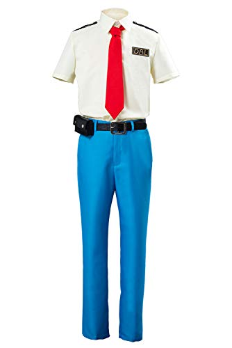 Animal Orville Wilbur Dodo Airlines Pilot Unifrom Outfit Cosplay Costume Uomo S