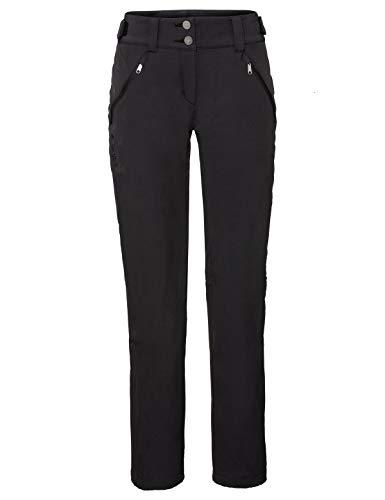VAUDE Damen Women\'s Skomer Winter Pants Hose, Black, 40
