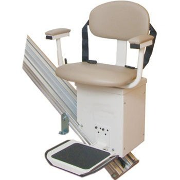 Stair Lift with Extra Wide Seat & Standard Factory Warranty