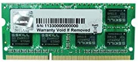 G.Skill 4GB DDR3-1333 módulo de - Memoria (4 GB, 1 x 4 GB, DDR3, 1333 MHz, 204-pin SO-DIMM)