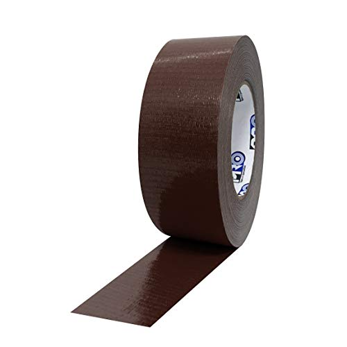 ProTapes Pro Duct 110 PE-Coated Cloth General Purpose Duct Tape, 60 yds Length x 2' Width, Brown (Pack of 1)