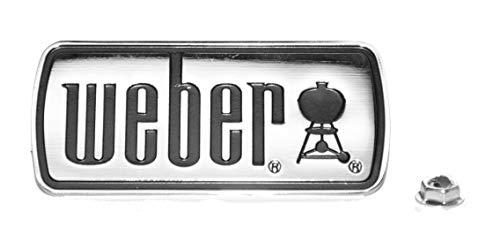 Weber 51406 Logo Label with Fastener