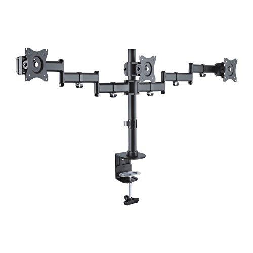 PureMounts OFFICE-03 Soporte de Escritorio para 3 monitores 33-69 cm (13-27