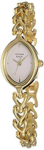 Titan Raga Analog White Dial Women's Watch NM2370YM01 / NL2370YM01