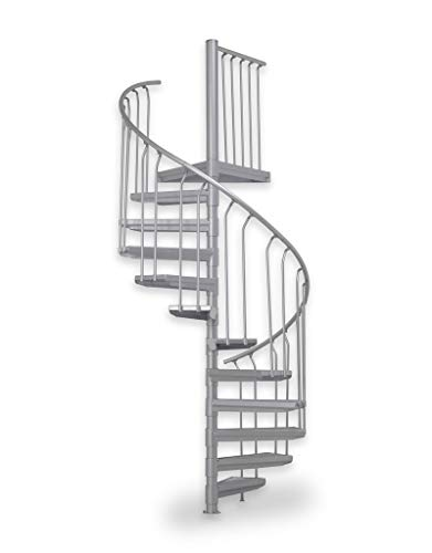 Scalant Scarvo L 130, escalera exterior, escalera de caracol para exteriores, diámetro de 130 cm