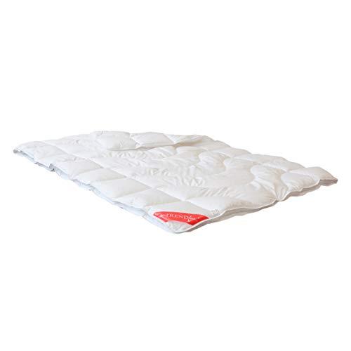 Badenia Trendline 4-Jahreszeiten-Steppbett, Baumwolle, weiß, 135 x 200 x 5 cm
