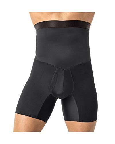 LEO Shaper mit Tailenformer fuer einen atteaktiven Körper Boxershort,Schwarz, Small