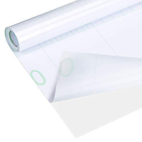 Trasparente Carta Adesiva,Trasparente Autoadesiva,40*500cm Paraschizzi Cucina Adesivo Per Muro,Pellicola Adesiva Mobili,Per Cucina Tavolo Pareti Piastrelle Impermeabile Protezione Trasparente