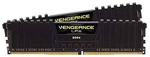 Corsair Vengeance LPX 16GB (2x8GB) DDR4 4400MHz C19 XMP 2.0 High Performance Desktop Arbeitsspeicher Kit (mit Airflow Kühlung) Schwarz