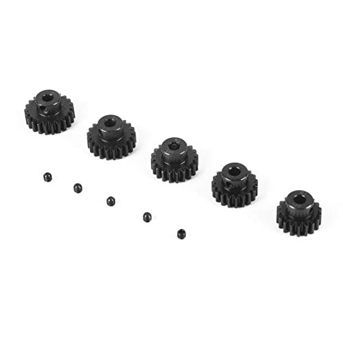 SURPASS HOBBY 5Pcs M1 5mm 11T 12T 13T 14T 15T Metal Pi/ñ/ón Motor Gear Set para 1//8 RC Car Truck Motor sin escobillas cepillado Negro