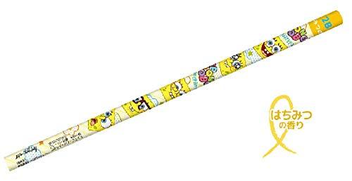スポンジボブ フレーバー鉛筆 フェイス SpongeBob ボブ えんぴつ エンピツ 鉛筆 フレーバー 香り 学校 勉強 文房具 映画 かわいい SB-5523373FC