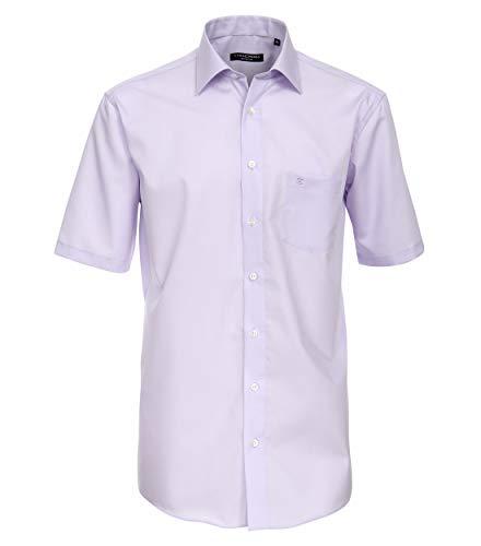 CASAMODA Herren Hemd Businesshemd, Violett (Flieder 901), 48