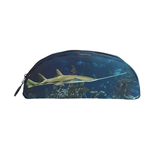 Montoj Kosmetiktasche für Aquarium, klein, Haifisch-Design
