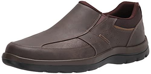 Rockport Men's Get Your Kicks Slip-On Brown Loafer 9.5 M (D)-9.5 M
