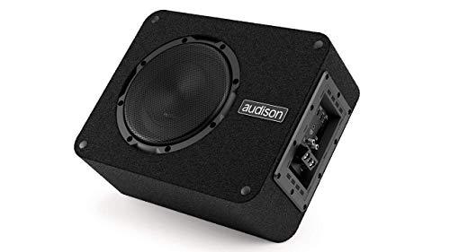 Audison APBX 8 AS2 20cm 250W Subwoofer attivo, filtro passa basso, ingresso di alto livello, 386 x 298 x 158 mm ~ Prima serie ~