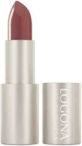LOGONA Naturkosmetik Lipstick no. 01 copper, Lippenstift, pflegend, natürliche Farben, mit Bio-Inhaltsstoffen, 1 er Pack