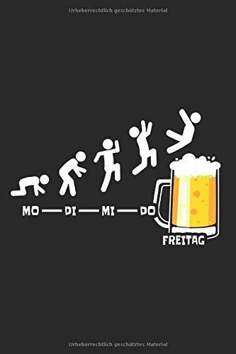 Bier & Endlich Freitag Notizbuch: Bier Notizbuch Woche Endlich Freitag Notizen Wochenende Lustiges Bier Geschenk (Liniert, 15 x 23 cm, 120 Linierte ... Bier Spruch & Geschenk Für Biertrinker