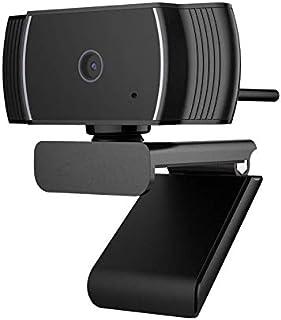 WXFXBKJ USB PC Webcam for Video Calling Recording Conferencing, 1080P HD Autofocus Camera, Plug & Play Video Calling Compu...