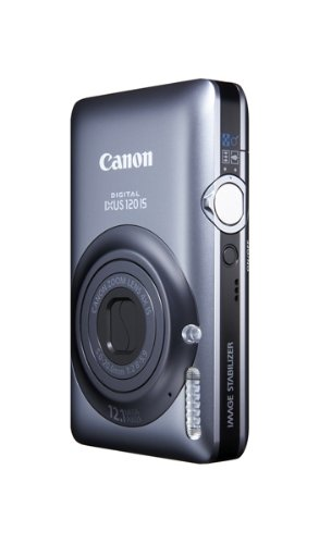 Canon Digital IXUS 120 IS Digitalkamera (12 MP, 4-fach opt. Zoom, 6,9cm (2,7 Zoll) LCD-Display, HDMI, SLIM) blau