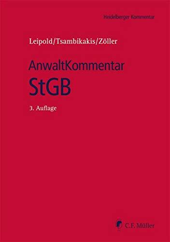 AnwaltKommentar StGB (Heidelberger Kommentar)