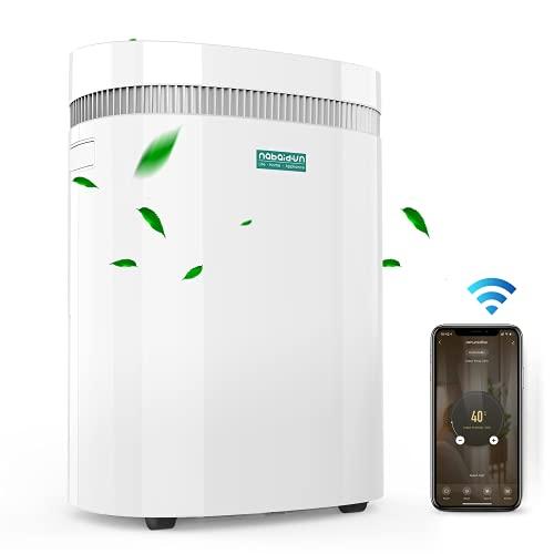 Nabaidun 50 Pints Smart Dehumidifier (Up to 3000 sq ft) $219.99