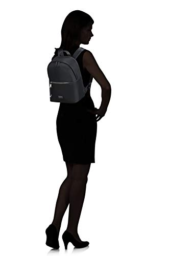 Samsonite Karissa Biz - Round Laptop Rucksack, 39.5 cm, 17.3 Liter, Black