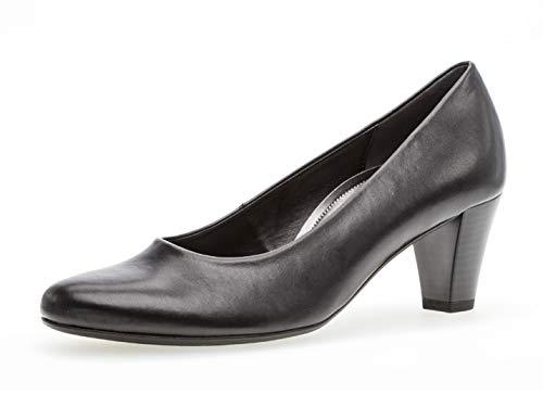 Gabor Damen Pumps 26.170, Frauen Elegante Pumps,Court-Shoes,Absatzschuhe,Abendschuhe,Stöckelschuhe,schwarz,39 EU / 6 UK