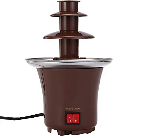 Chocolate Fountain Machine Electirc Chocolate Fondue Set 3 Tier Stainless...