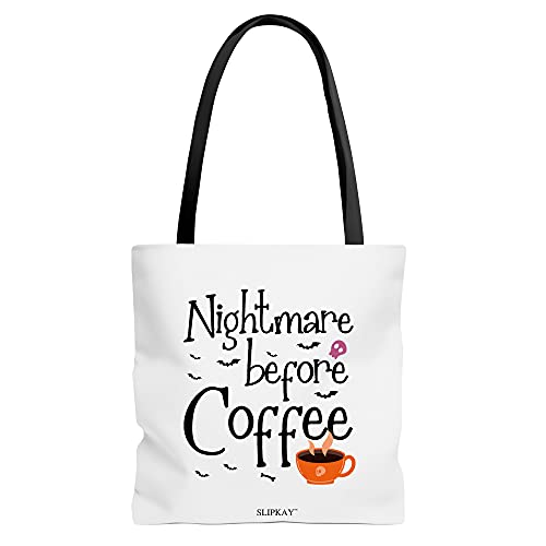 Halloween Nightmare Before Coffee Toe Bag